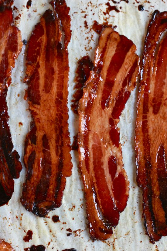maple-candied bacon - ask yourself...can bacon get any better...answer ...