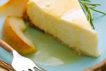 Goat Cheese Cheesecake with Roasted Rosemary Pears | Whole Foods ...
