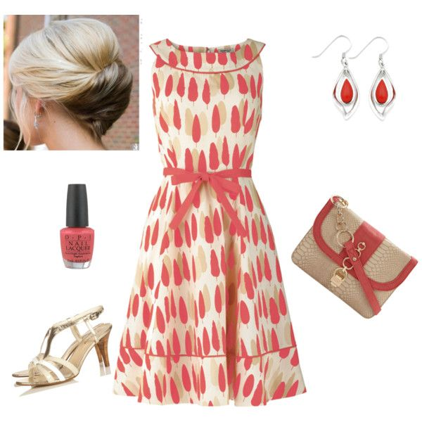 Cute Backyard Party Outfits : Super cute spring dress! Garden Party  Things I love  Pinterest