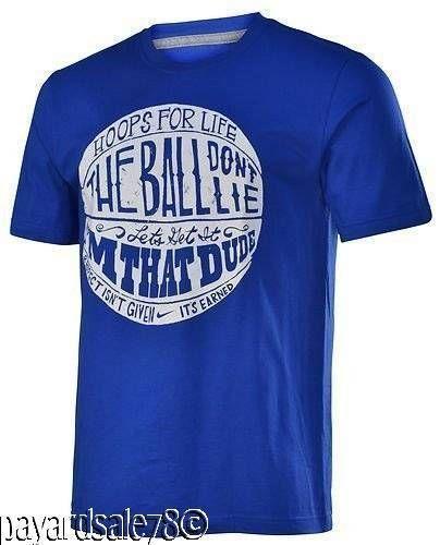 men 39 s size 3xl xxxl nike basketball t shirt hoops for life
