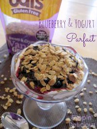 Blueberry, Yogurt, & Granola Parfait is a healthy breakfast option on ...