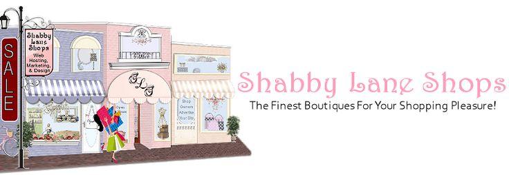 Shabby Καταστήματα Lane - Μεγάλη σε απευθείας σύνδεση εμπορικό κέντρο και μοναδικό σχεδιασμό ιστοσελίδας