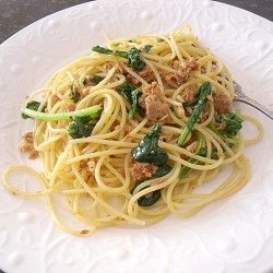 Sweet Spicy Tuna Arugula Pasta | Food and Drink | Pinterest