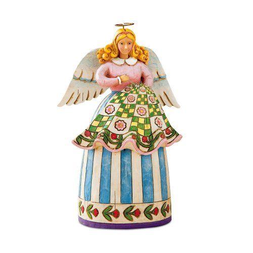 Gift for quilters!! Jim Shore Heartwood Creek Mini Quilting Angel Figurine, 5-Inch Enesco http://www.amazon.com/dp/B000ZLA7U2/ref=cm_sw_r_pi_dp_GltGub0FFADBF
