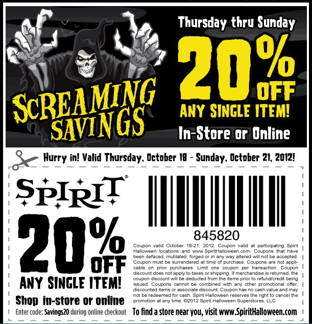find the latest spirit halloween coupon codes online promotional codes and the overall bestwe have 43 halloween sales 2017 coupons for you to choose from