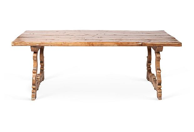 Country Style Dining Table On