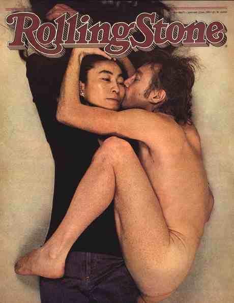 John and Yoko, 1980.