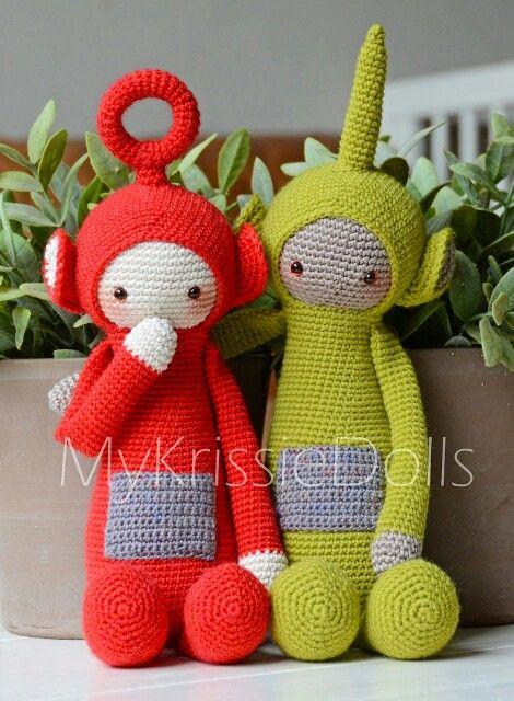 Teletubbies Knitting Pattern : Krissie the Teletubbies - MyKrissieDolls Amigurumi - Lalylala Pin?