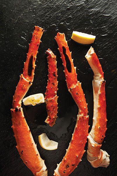 Grilled King Crab Legs Recipe - Saveur.com