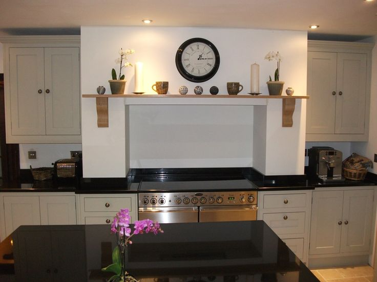 Handmade kitchen mantel our handmade painted kitchens for Handmade kitchens