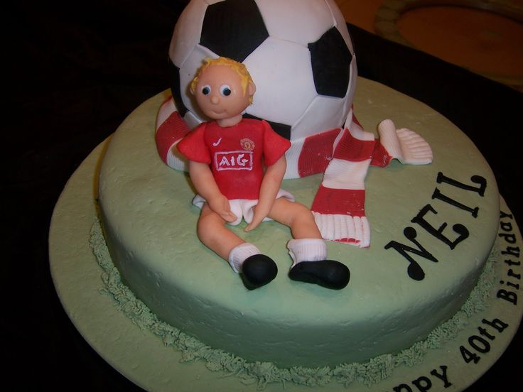 boys birthday cakes images | Liverpool FC Football 40th Birthday Cake