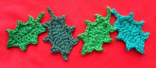 crochet holly