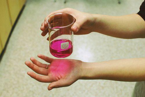 pink chemistry