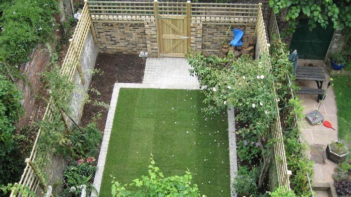 Rectangular Lawn