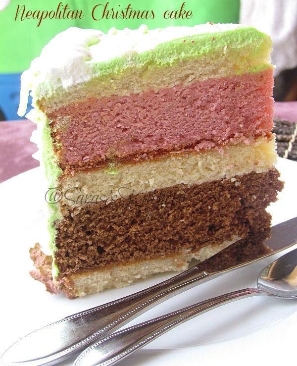 Neapolitan Christmas Cake | yummy food..... | Pinterest