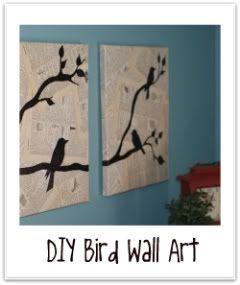 DIY Bird art!