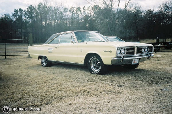 Coronet... saw one of these today, would be a real sweet car if restored.