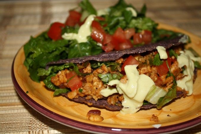 tempeh tacos | Food For Thought | Pinterest