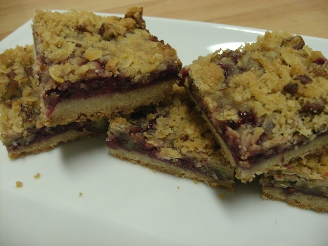 Raspberry streusel bars - might be my favorite BakerBecky recipe yet!