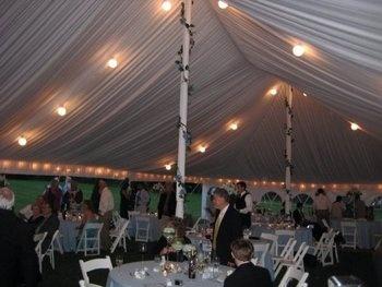 Wedding, Reception, Liner, Lighting, Tent