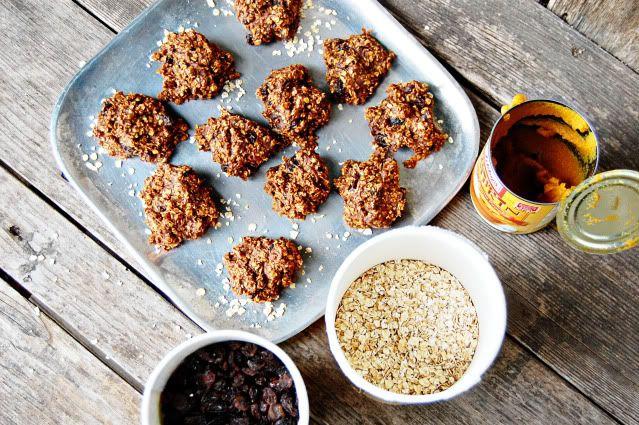 Pumpkin Protein Cookies - Newlyweds | weight loss | Pinterest