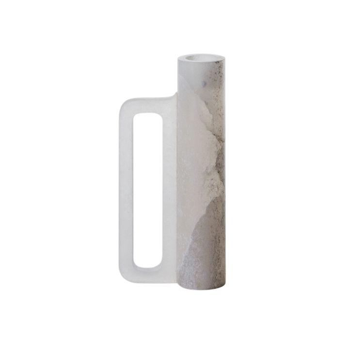 alabaster candle holder / arik levy