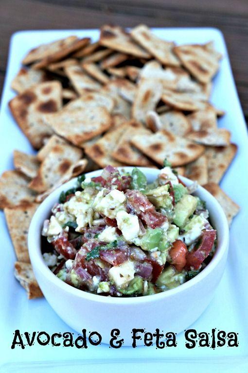 avocado feta salsa | Favorite Recipes | Pinterest