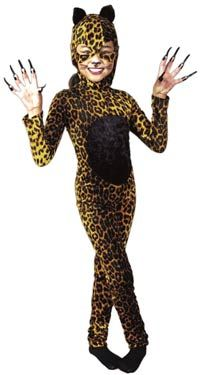 Костюм леопарда своими руками 14