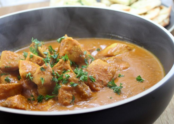 In a Hurry Chicken Curry. This blog has a ton of really nicely ...