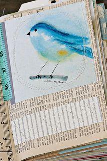 beautiful journal idea
