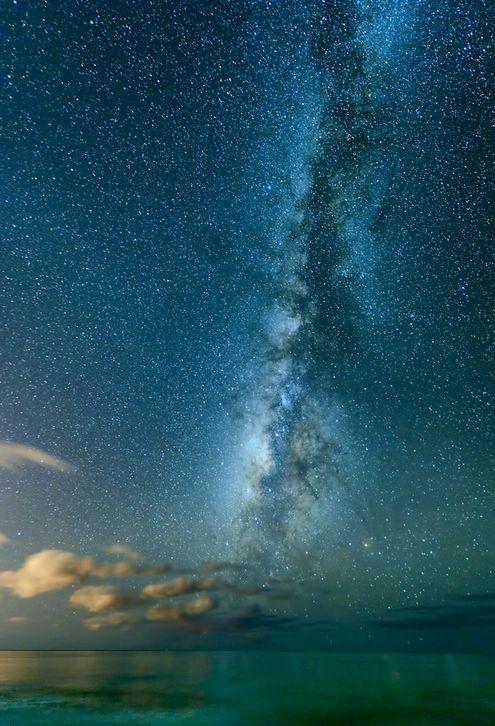 Milky shores...