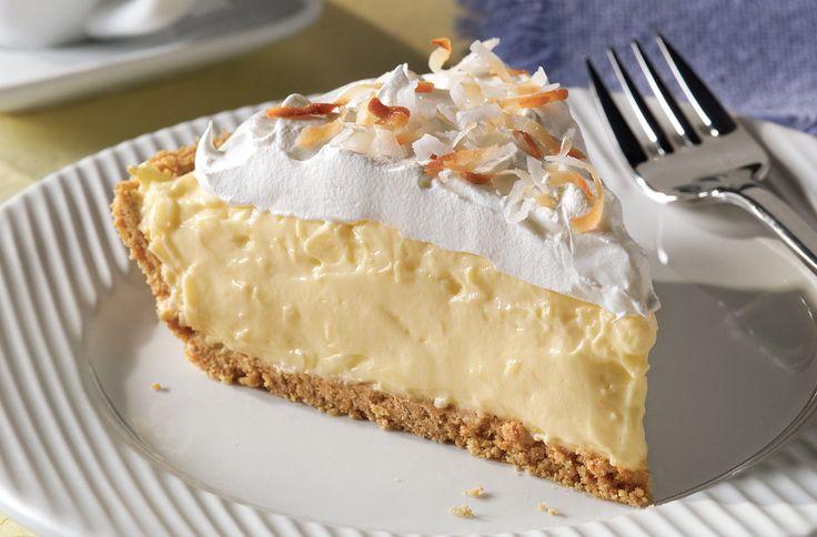 Easy Coconut Cream Pie #JELLO | PIES!!! | Pinterest