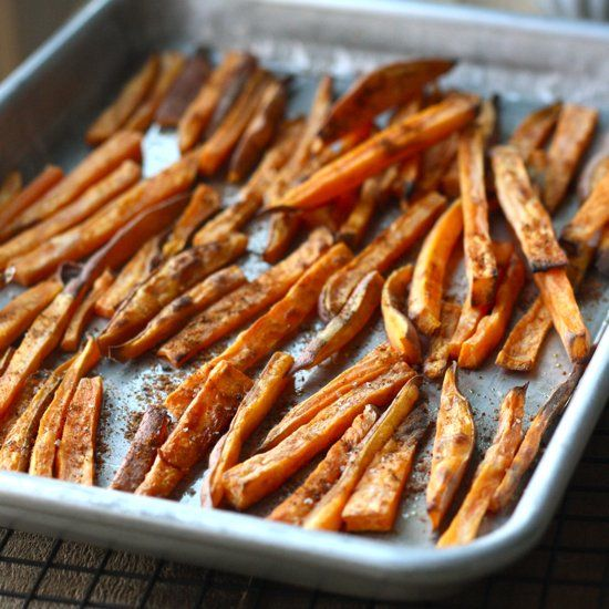 Roasted Sweet Potato Fries with Japanese Seven Spice & Sichuan Pepper ...