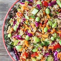 Feta Mandarin Asian Quinoa Salad Recipes — Dishmaps