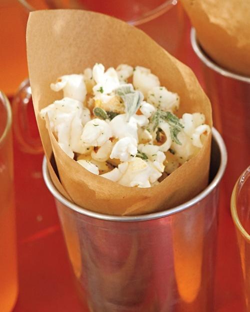 Sage Popcorn | Martha Stewart Recipes