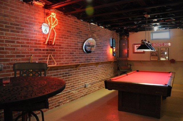 New york loft style basement remodel basement pinterest for Loft style basement