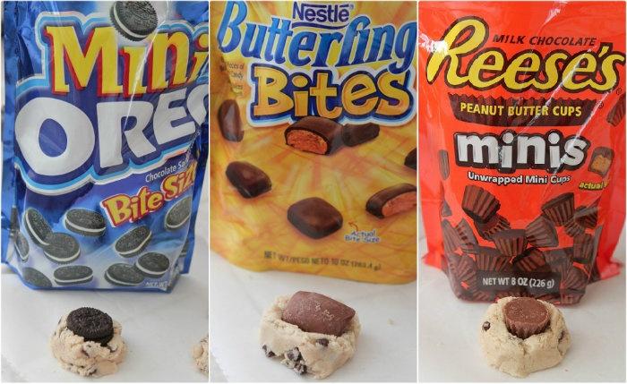 No-Bake Stuffed Cookie Dough Bites | Picky Palate