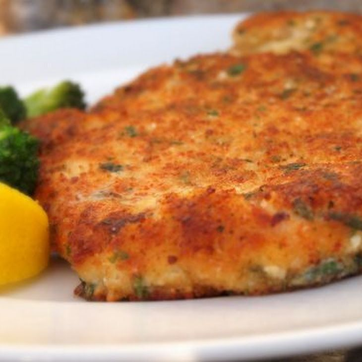 Parmesan Crusted Chicken XV Recipe | stuff i like | Pinterest