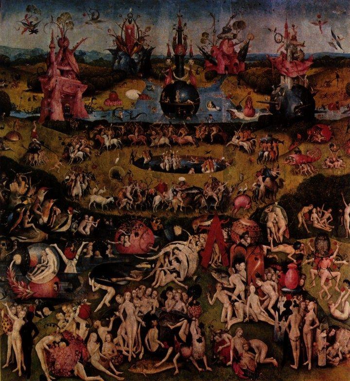 Hieronymus bosch hell hi ronymus bosch pinterest for Bosch jardin des delices