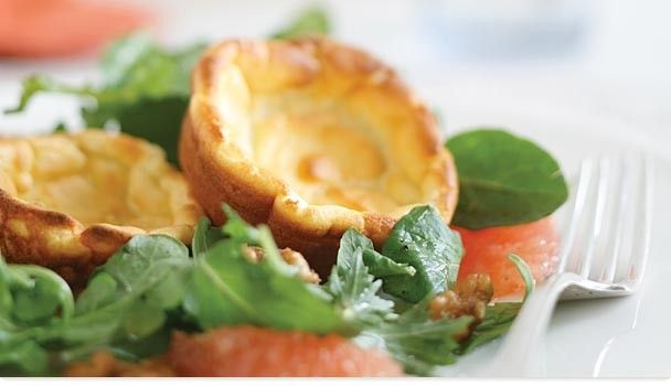 Goat Cheese Souffles--for salads or tomato soup?