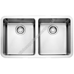 Franke Kubus Double Bowl Undermount sink Stainless Steel Code ...