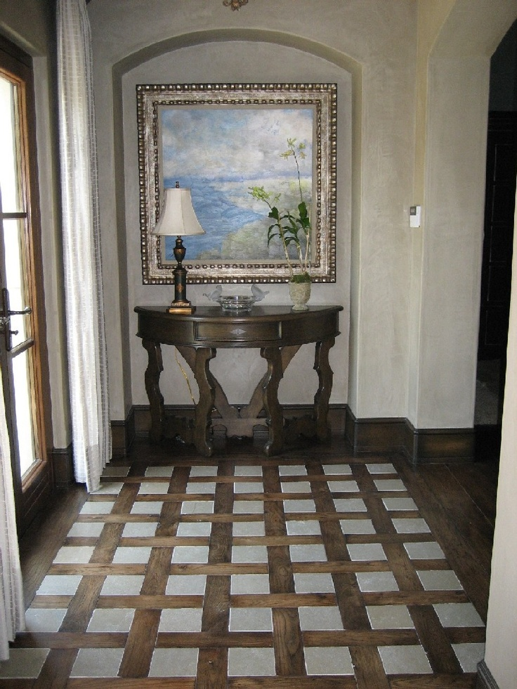 Lovely entryway floor entryway floor ideas pinterest for Foyer flooring ideas