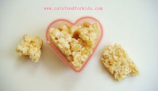 valentine's day rice krispie treats recipe