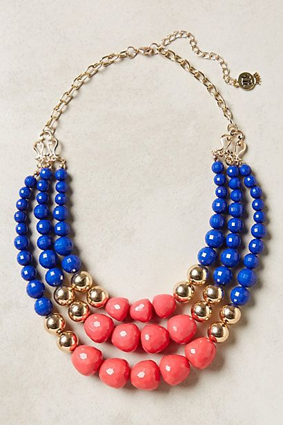 Currant Layered Necklace #anthropologie