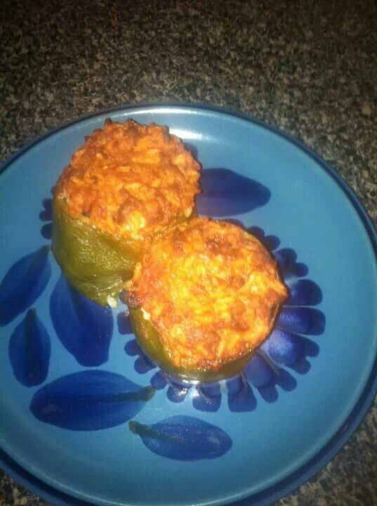 "Stuffed peppers | ""Stuffed Peppers & Stuffed Onions & Stuffed To..."