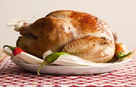 ... roast vermont turkey with giblet gravy and sausage and sage dressing