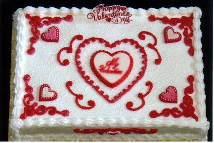 valentine cakes at walmart