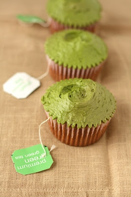 Hummingbird Bakery Green Tea Cupcakes: A Preview