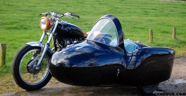 fibreglass sidecar xs650