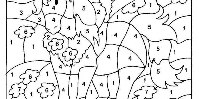 Search results for disney princess printables site for Disney color by number printable pages